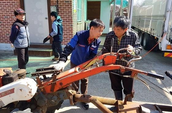 [포토]당진시, 오는 10월까지 '농기계 순회수리교육' 진행