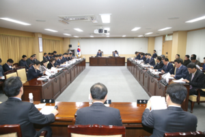 [포토]경주시의회, 경주경찰서 부지 전체의원간담회 개최