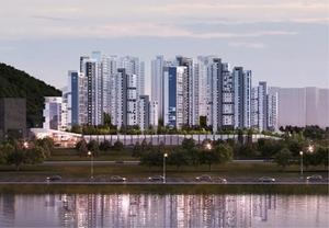[NSP PHOTO]포스코건설, 2천억원 규모 춘천 소양촉진2구역 재건축 수주...