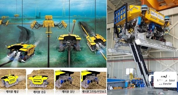 수중건설로봇 URI-T (사진 = 한국로봇융합연구원)