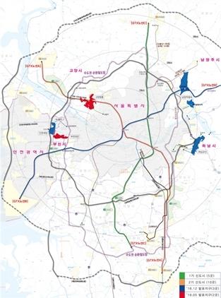 3기 신도시 위치도 (사진 = 국토교통부)