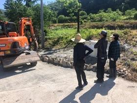 [포토]완주군, 주민참여예산으로 마을 꽃길 조성