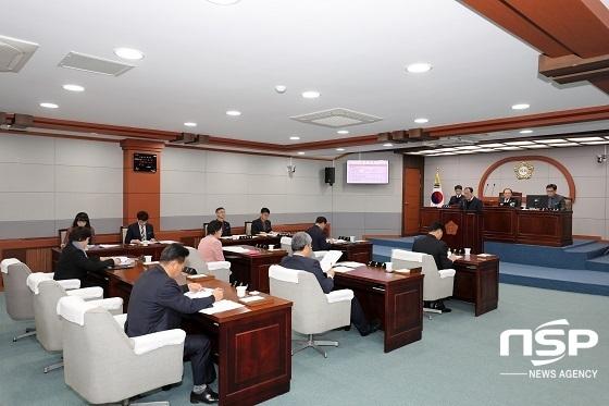 진안군의회 본회의장 전경