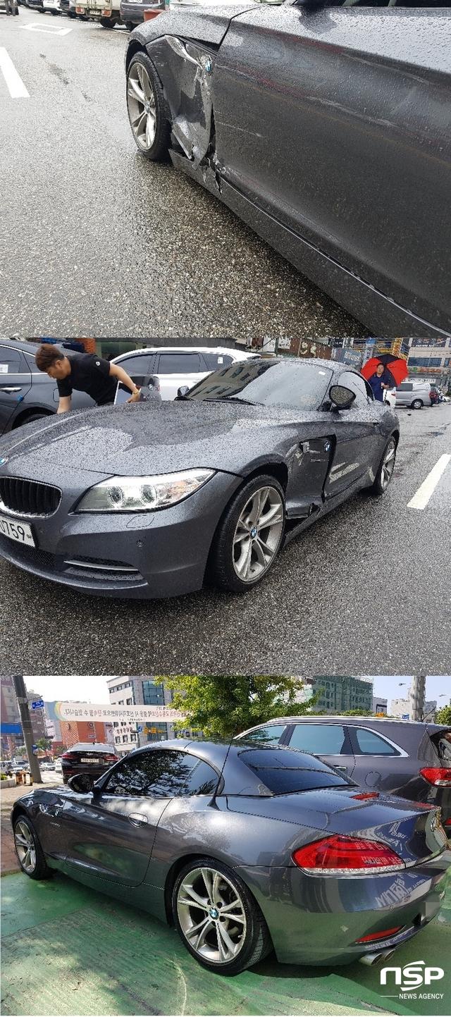 감쪽같이 복원된 차량. (사진 = 김종식 기자)