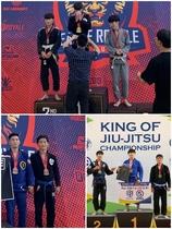 [NSP PHOTO]송유민 아이기스 주짓수 선수, '리그로얄10' 대회서 우승