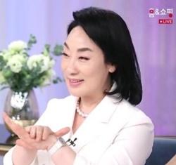 ▲본에스티스 한도숙 대표(사진 = 홈앤쇼핑 방송화면 캡쳐)