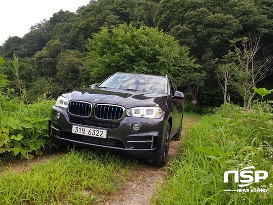 BMW X5 xDrive 40e (사진 = 강은태 기자)