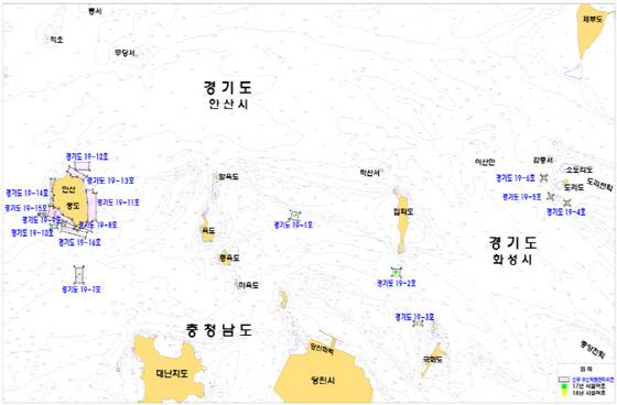 수산자원관리수면 지정 구역도. (사진 = 경기도)