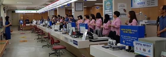 ▲홍성군이 청각·언어장애인을 위해 수어통역 서비스를 제공한다. (사진 = 홍성군)