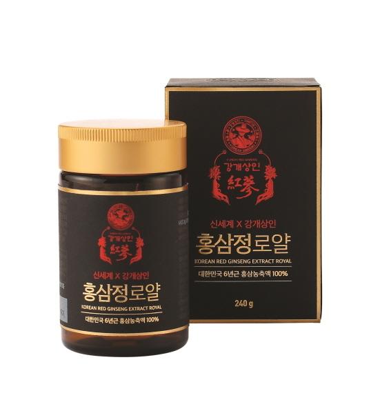 신세계x강개상인 홍삼정 로얄 단품 (사진 = 신세계백화점 제공)