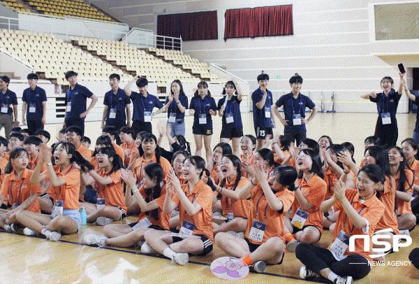 [포토]포스코, 포항·광양 중학생 대상 '2019 포스코 드림캠프' 진행