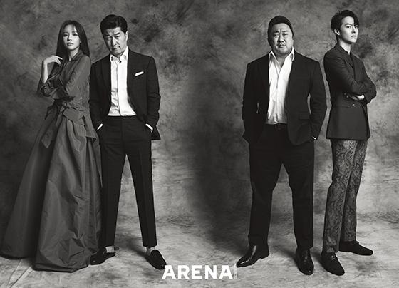 [NSP PHOTO]'나쁜 녀석들: 더 무비' 마동석·김상중·김아중·장기용 화보 공개