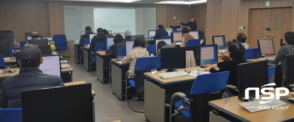 상반기에 운영된 지역주민 컴퓨터교실 (사진 = 한울원자력본부)