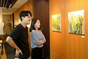 [포토]광동제약, '바람을 바라보다' 미술전시 개최
