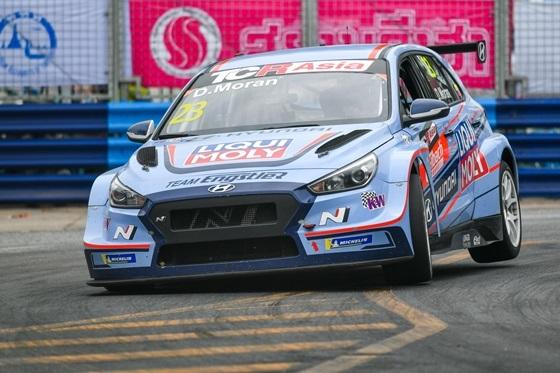 i30 N TCR_TCR 아시아 시리즈 경주 모습 (사진 = 현대차)
