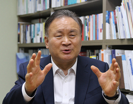 [포토]이상민 의원, 日경제침략 대응 위해 산·학·연 협업 모델 전국 확산 필요