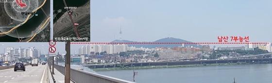 한강과 남산 조망을 고려한 한남2구역 건축물 높이계획 (사진 = 서울시)