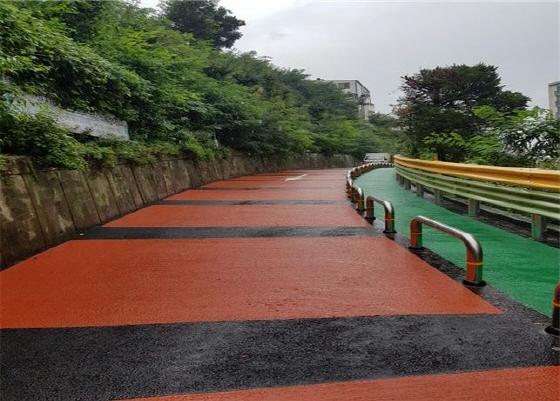 부천시 소사본동 성지아파트 상부도로가 재해위험도로에서 안전한 도로로 탈바꿈했다. (사진 = 부천시)