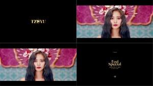 [포토]트와이스 쯔위, 신곡 'Feel Special' 개별 마지막 티저 장식..'화려'