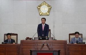 [포토]장흥군의회, 제249회 임시회 개회