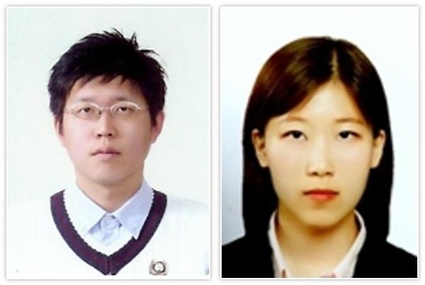 노준석 포스텍 교수(사진 왼쪽).김민경 박사과정 (사진 = 포스텍)