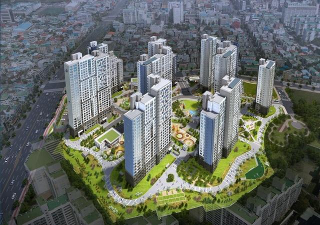 [NSP PHOTO]포스코건설·계룡건설, 대전 '목동 더샵 리슈빌' 견본주택 개관