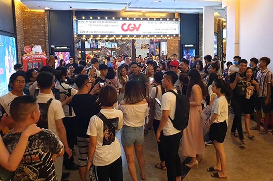 베트남 껀떠(Can Tho)에 위치한 CGV센스 시티(Sense city) 극장 로비 전경. (사진 = CJ CGV)