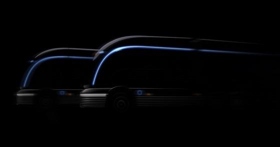 현대자동차 수소전용 트럭 콘셉트 HDC-6 넵튠 티저 이미지 (사진 = 현대차)