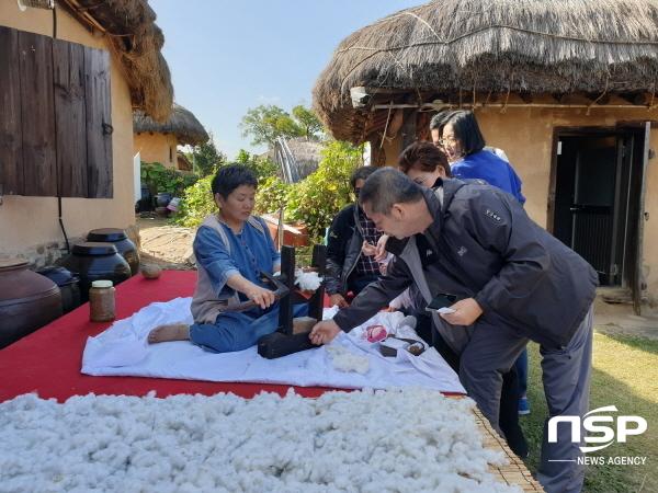 [NSP PHOTO]안동시, '전통한옥 체험프로그램' 관광객들에 인기