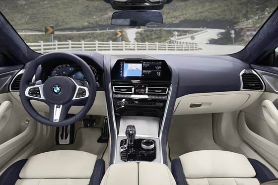 BMW 뉴 8시리즈 내부 (사진 = BMW 코리아)