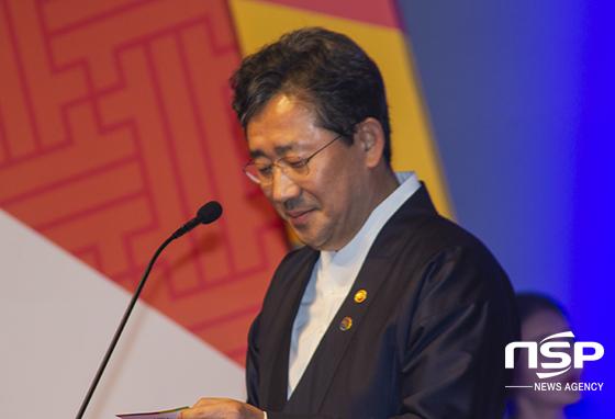 박양우 문화체육관광부 장관 (사진 = 이복현 기자)