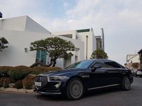 [포토][타보니]제네시스 G90, 럭셔리 수입차比 경쟁력 '굿'