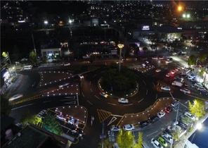 [NSP PHOTO]순천역 앞 회전교차로, 흐름을 바꾸다