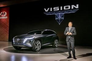 [NSP PHOTO]현대차, 플러그인 하이브리드 SUV 콘셉트카 '비전 T' 세계 최초 공개