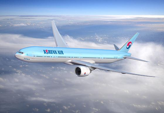 대한항공 보잉 777-300ER 항공기. (사진 = 대한항공)