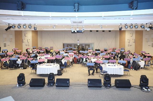 경기마을미디어축제 단체 기념촬영 모습. (사진 = 성남문화재단)