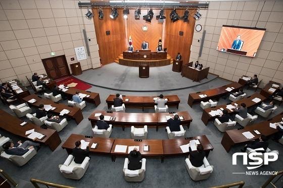 군산시의회 본회의장