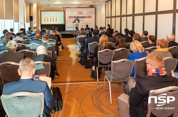한수원 한국형원전 홍보행사 APR Conference 2019 운영 모습. (사진 = 한수원)