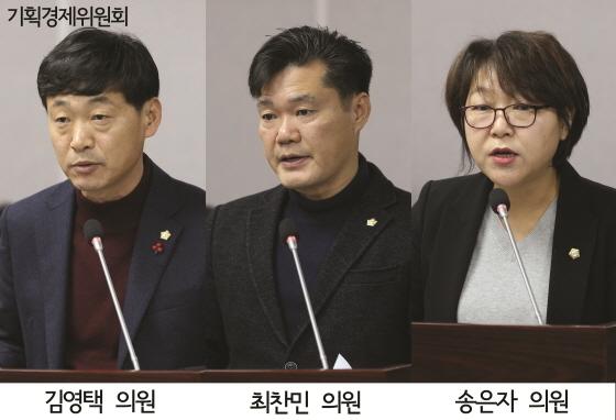 기획경제위원회 의원들 모습. (사진 = 수원시의회)
