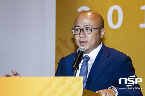리오 리우(Leo Liu) 알리바바 클라우드 한국, 홍콩 및 마카오 지역 본부장. (사진 = 이복현 기자)