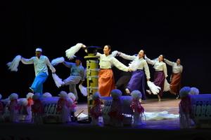 [NSP PHOTO]진도군에서 펼쳐지는 3개 국악단 송년합동공연