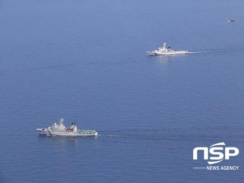 동해지방해양경찰청은 오는 19일 포항 구룡포 동방 한·일 중간 해역에서 일본 해상보안청 제8관구 해상보안본부와 한·일 수색구조 연합훈련을 실시한다. (사진 = 동해지방해양경찰청)