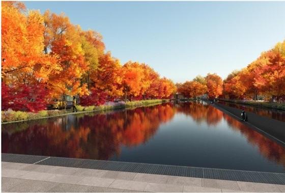 물의 정원(Great Pond & Fall Garden)
