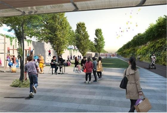 경인지하도 광장(Gyeongin Underpass Plaza) (사진 = 서울시)
