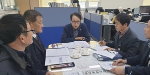 [NSP PHOTO]윤찬수 아산시 부시장, 시정 주요현안 파악·점검