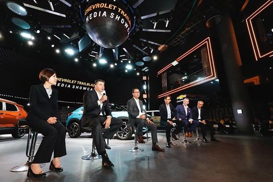 카허 카젬 한국지엠 사장이 쉐보레 트레일블레이저에 대해 말하고 있다. (사진 = 한국지엠)