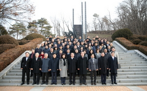 [NSP PHOTO]전국 보훈관서장단, 오산 죽미령 평화공원 방문