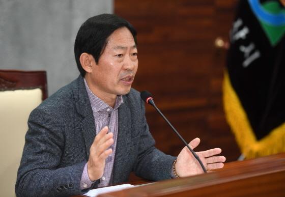 20일 김문환 오산시 부시장이 공직기강을 강조하고 있다. (사진 = 오산시)
