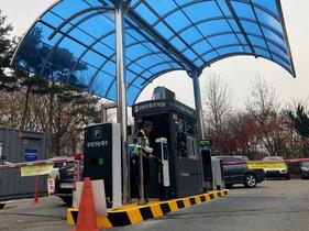 [포토]안산도시공사, 설 연휴 공영유료주차장 '무료개방'