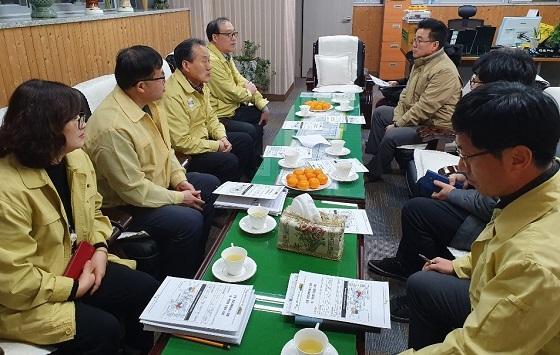 ▲서천군이 지역 의·약 단체 간 긴밀한 협조를 위해 간담회를 개최했다. (사진 = 서천군)